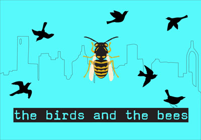 The Birds and Bees Postcard